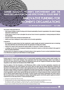 Gender Equality Innovations